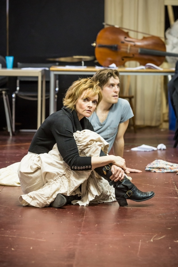 <p>Sharon Small and Jack Farthing</p><br />© Marc Brenner