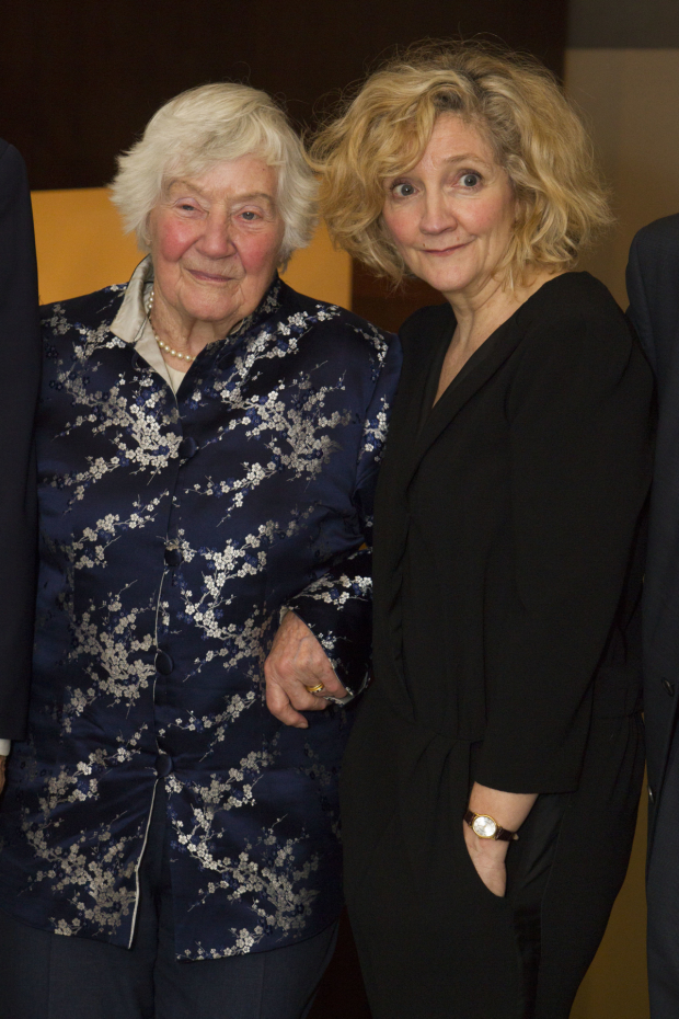 <p>Shirley Williams and Debra Gillett (Shirley Williams)</p><br />© Dan Wooller for WhatsOnStage