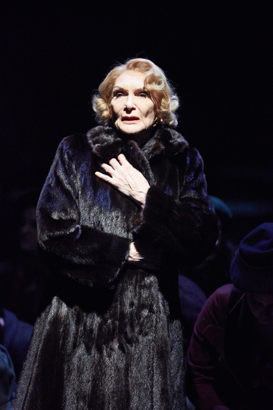 <p>Sian Phillips as Fania Fenelon in <em>Playing For Time</em> (2015)</p><br />© Mark Douet