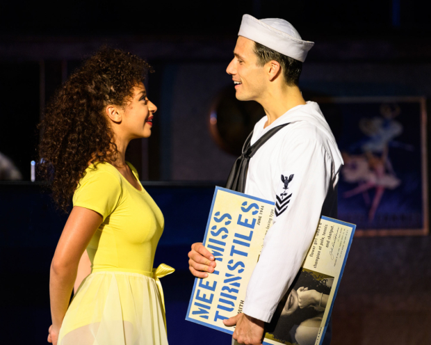 <p>Siena Kelly and Danny Mac as Ivy and Gabey in <em>On the Town</em></p><br />© Jane Hobson