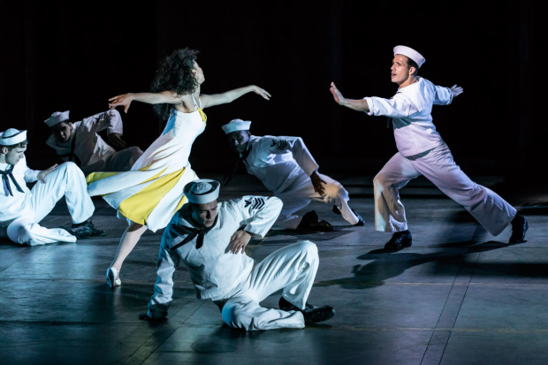 <p>Siena Kelly and Danny Mac as Ivy and Gabey in <em>On the Town</em></p><br />© Johan Persson