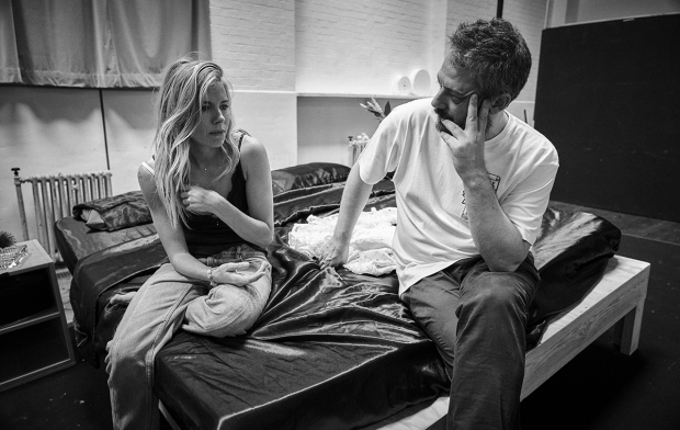 <p>Sienna Miller and Benedict Andrews</p><br />© Charlie Gray
