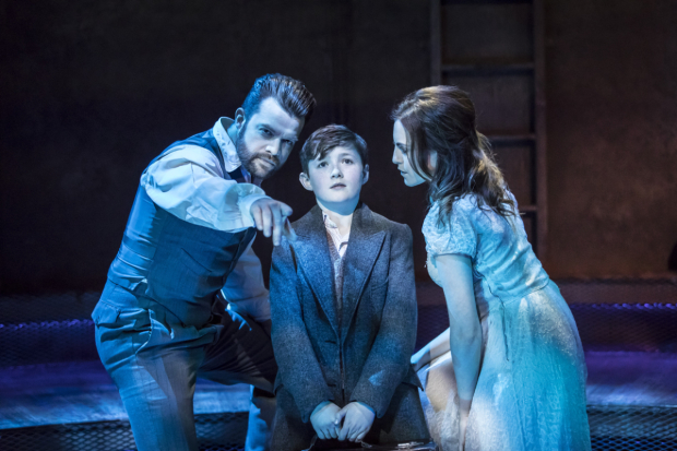 <p>Simon Bailey, Fisher Costello Rose and Niamh Perry</p><br />© Johan Persson