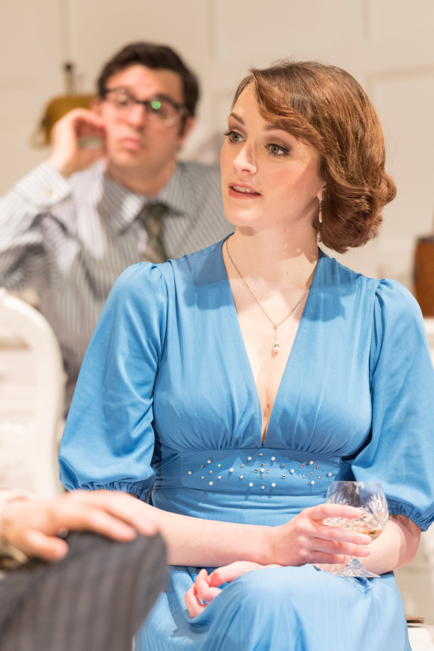 <p>Simon Bird and Charlotte Ritchie in <em>The Philanthropist</em></p><br />© Manuel Harlan