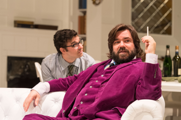 <p>Simon Bird and Matt Berry  in <em>The Philanthropist</em></p><br />© Manuel Harlan