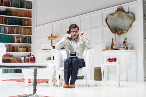 <p>Simon Bird in <em>The Philanthropist</em></p><br />© Manuel Harlan