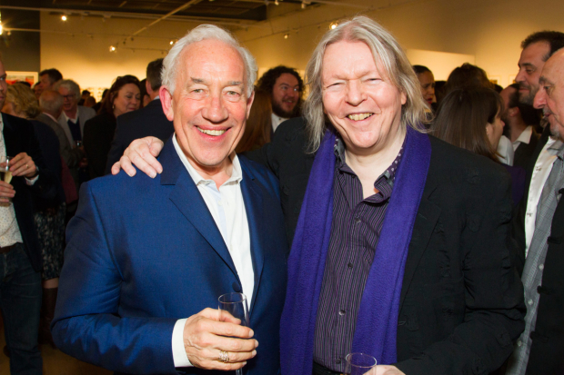 <p>Simon Callow (director) and Christopher Hampton (author)</p><br />© Dan Wooller for WhatsOnStage