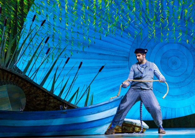 <p>Simon Lipkin (Ratty) in <em>The Wind in the Willows</em> </p><br />Darren Bell