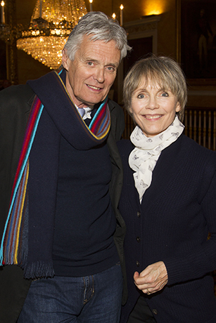 <p>Simon Williams and Lucy Fleming</p><br />Dan Wooller for WhatsOnStage