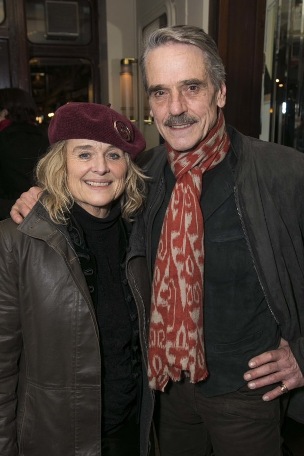 <p>Sinead Cusack and Jeremy Irons</p><br />© Dan Wooller for WhatsOnStage