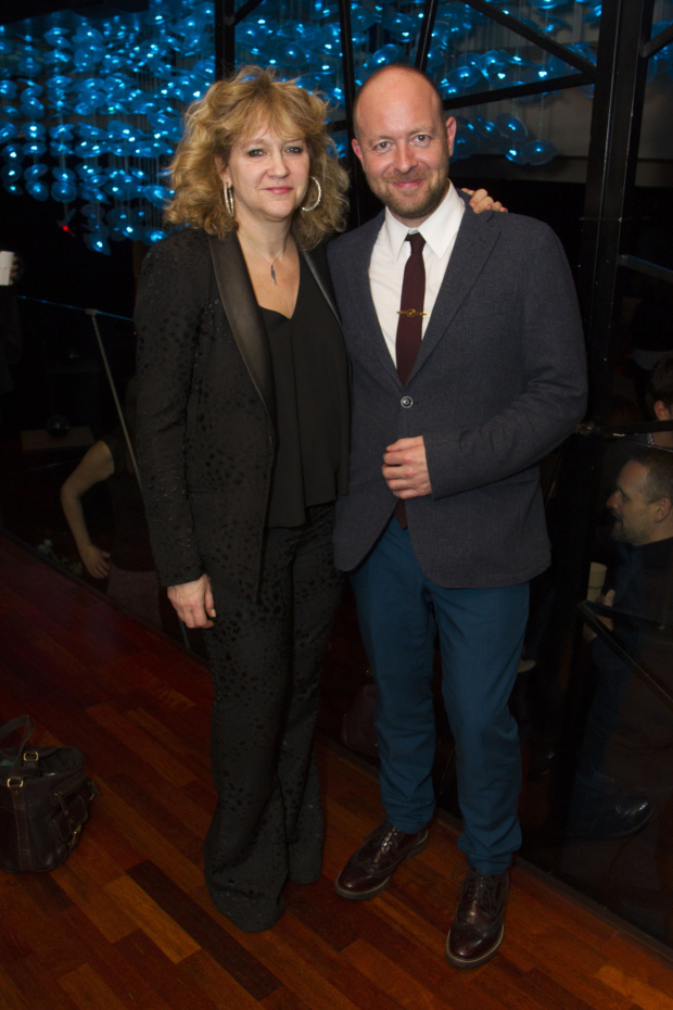 <p>Sonia Friedman (producer) and John Tiffany (director) </p><br />© Dan Wooller for WhatsOnStage