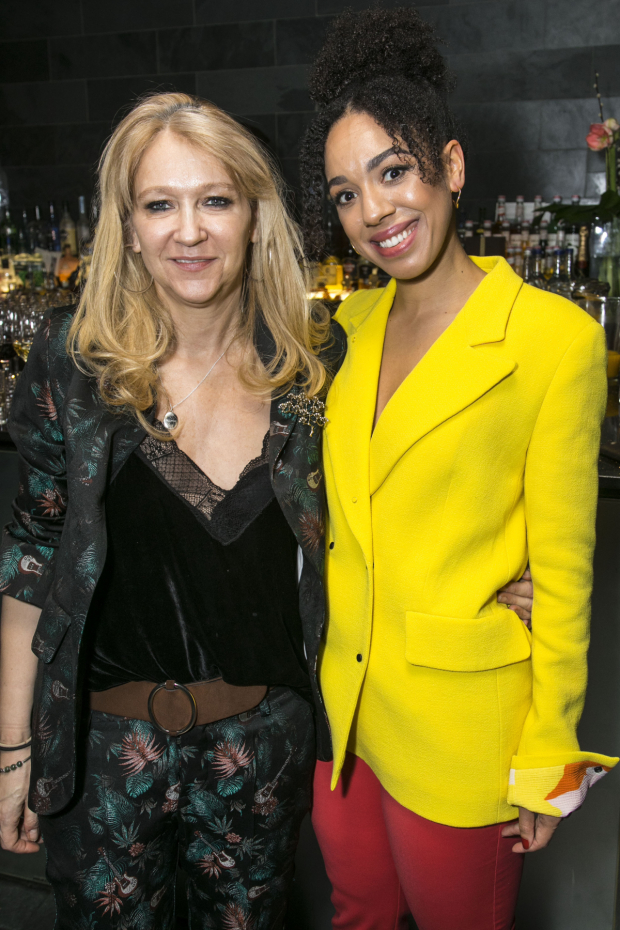 <p>Sonia Friedman (producer) and Pearl Mackie (Lulu)</p><br />© Dan Wooller for WhatsOnStage