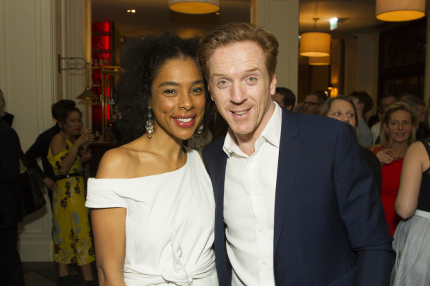 <p>Sophie Okonedo (Stevie) and Damian Lewis (Martin)</p><br />© Dan Wooller for WhatsOnStage