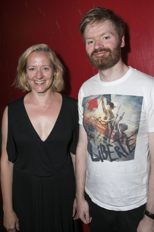 <p>Sophie Russell  and Rory Mullarkey (playwright) </p><br />© Dan Wooller