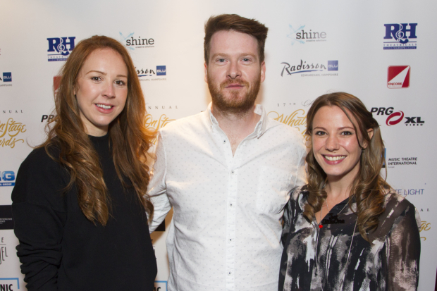 <p>Stacey Norris, Saul Marron and Beth-Louise Priestley</p><br />© Dan Wooller For WhatsOnStage