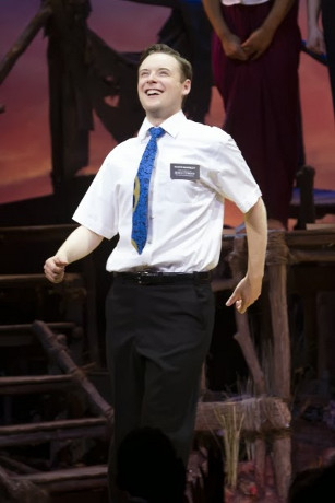 <p>Stephen Ashfield won Best Supporting Performance in a Musical for <em>The Book of Mormon</em> at the Prince of Wales Theatre</p>