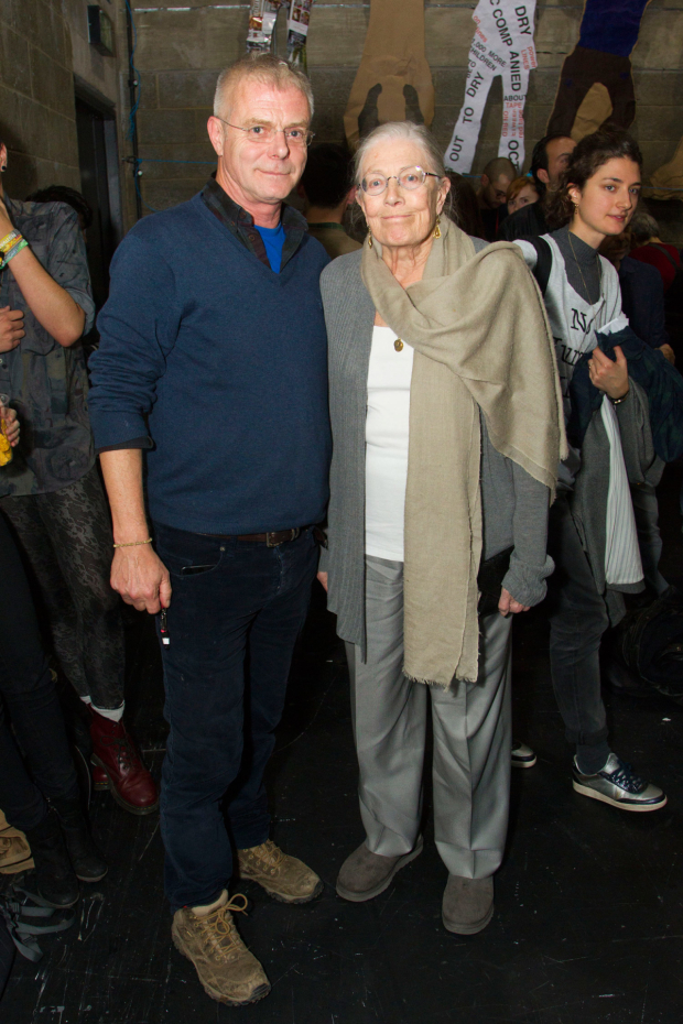 <p>Stephen Daldry and Vanesssa Redgrave</p><br />© Dan Wooller for WhatsOnStage