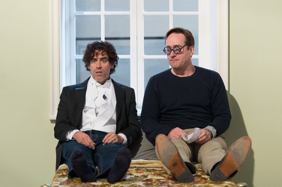 <p>Stephen Mangan and Mathew Macfadyen</p><br />© Manuel Harlan