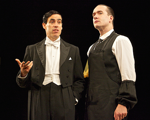 <p>Stephen Mangan and Matthew Macfadyen</p><br />© Francis Loney