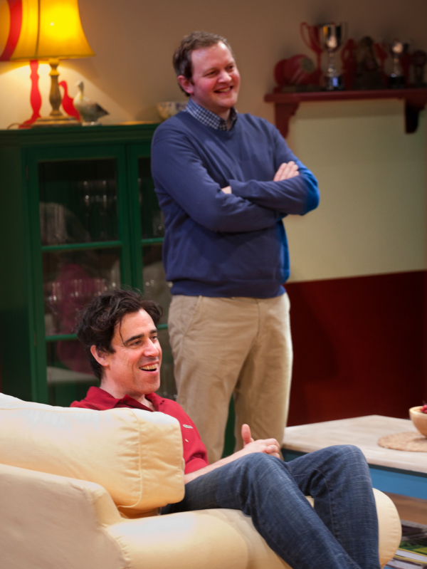<p>Stephen Mangan as Adam and Miles Jupp as Matthew</p><br />Simon Annand