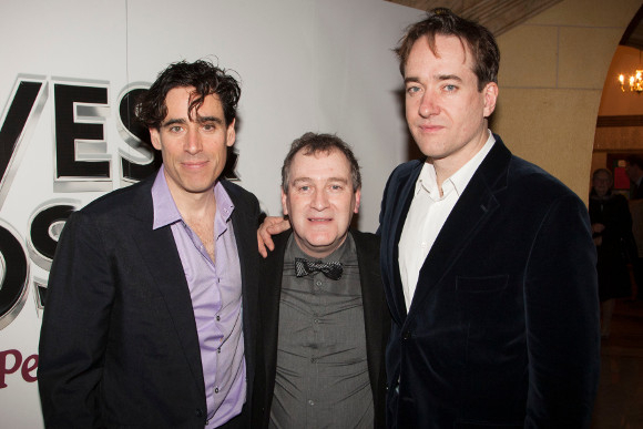<p>Stephen Mangan, Mark Hadfield and Matthew Macfadyen</p><br />© Dan Wooller for WhatsOnStage