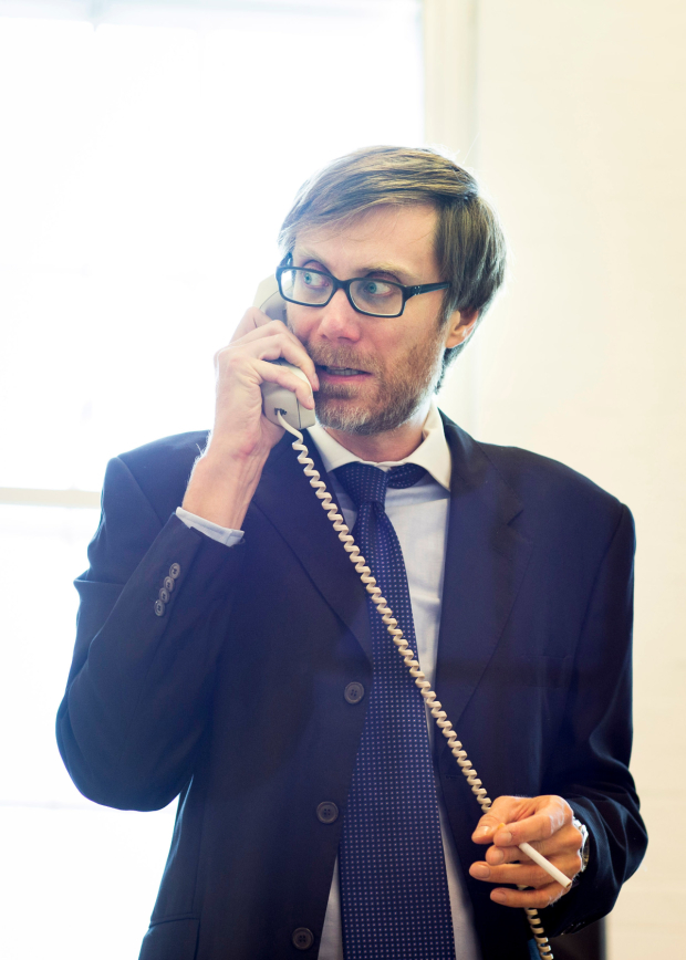 <p>Stephen Merchant as Ted</p><br />Helen Maybanks