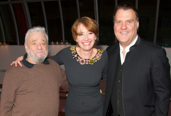 <p>Stephen Sondheim, Emma Thompson and Bryn Terfel</p><br />Dan Wooller