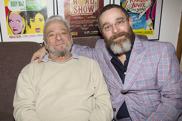 <p>Stephen Sondheim (Music/Lyrics) and Andy Nyman</p><br />© Dan Wooller for WhatsOnStage