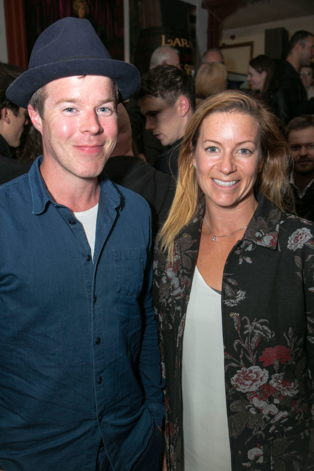 <p>Stephen Wight and Katie Lyons</p><br />© Dan Wooller for WhatsOnStage