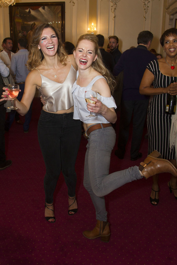 <p>Summer Strallen (Carrie) and Amy Lennox (Janey)</p><br />© Dan Wooller for WhatsOnStage