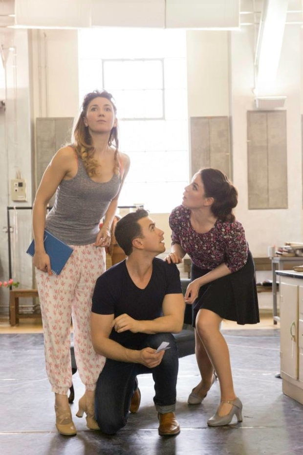 <p>Summer Strallen (Maud), Richard Fleeshman (George) and Melle Stewart (Alice)</p><br />© Johan Persson