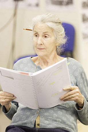 <p>Susan Engel in rehearsal for <em>Fathers and Sons</em></p><br />© Johan Persson