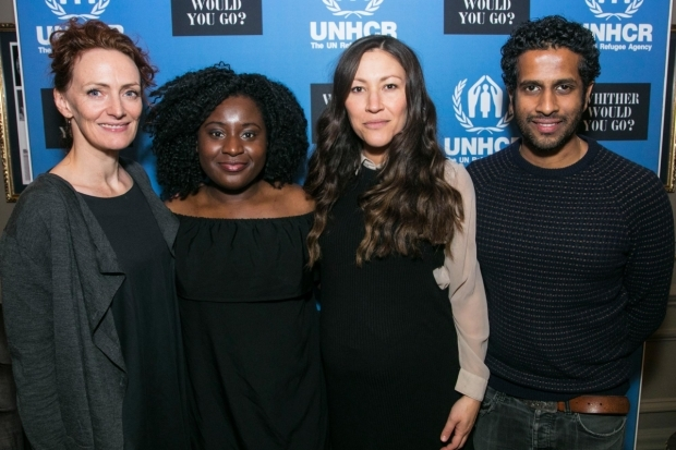<p>Susie Trayling, Susan Wokoma, Eleanor Matsuura and Prasanna Puwanarajah</p><br />© Dan Wooller for WhatsOnStage