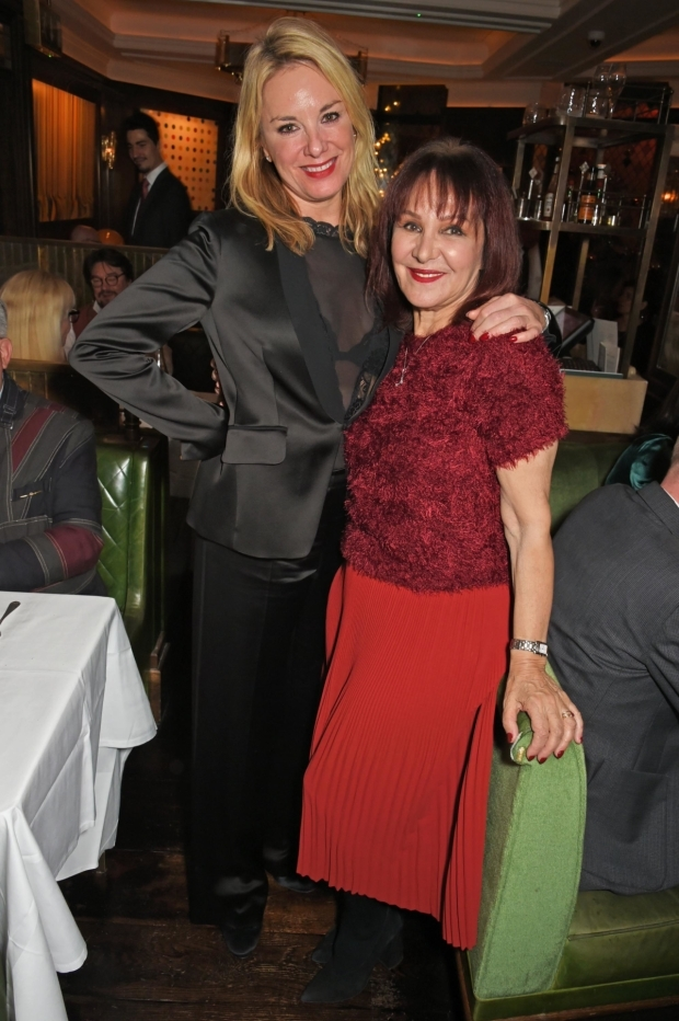 <p>Tamzin Outhwaite and Arlene Phillips</p><br />© Dave Benett