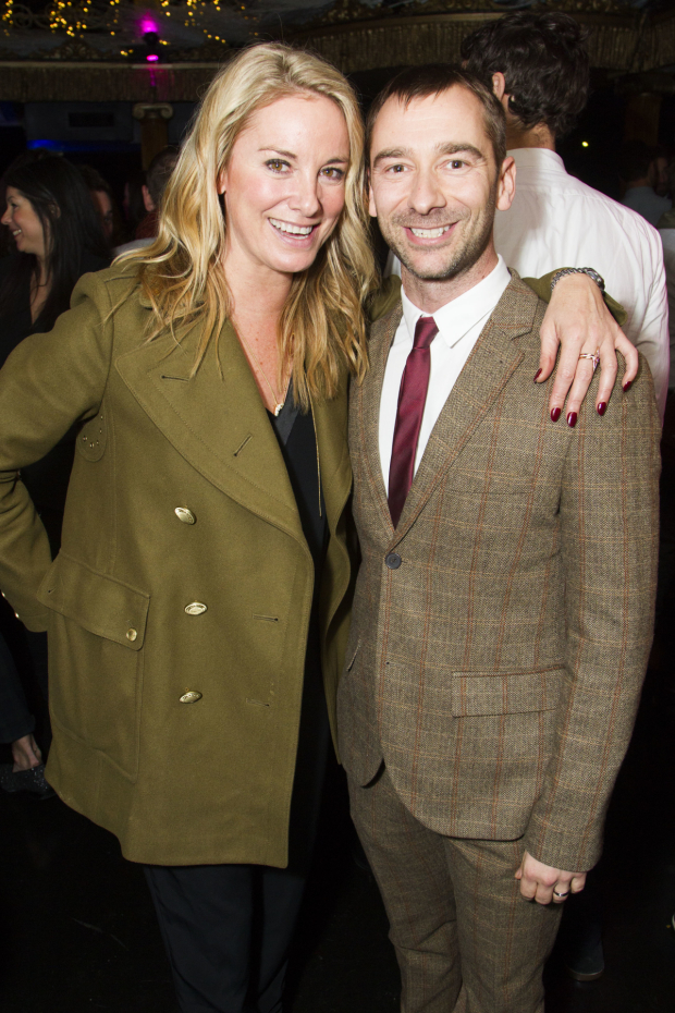 <p>Tamzin Outhwaite and Charlie Condou</p><br />© Dan Wooller For WhatsOnStage