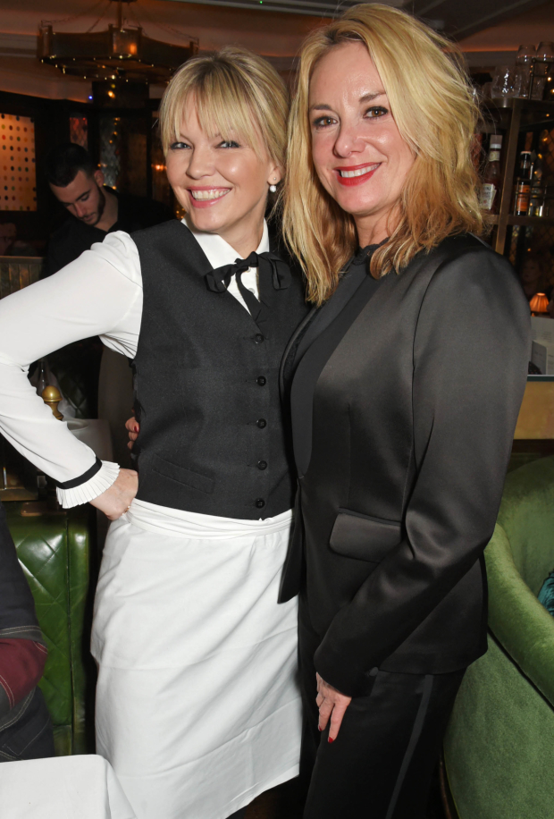 <p>Tamzin Outhwaite and Kate Thornton</p><br />© 2017 Dave Benett