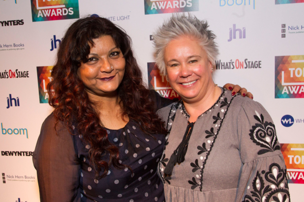 <p>Tanika Gupta and Emma Rice</p><br />© Dan Wooller for WhatsOnStage