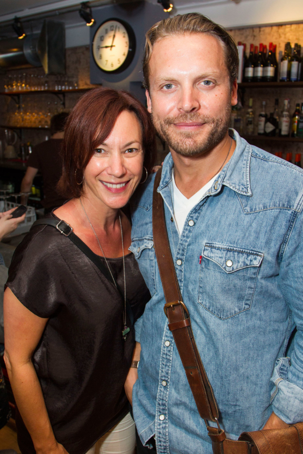 <p>Tanya Franks and Lex Shrapnel</p><br />© Dan Wooller for WhatsOnStage