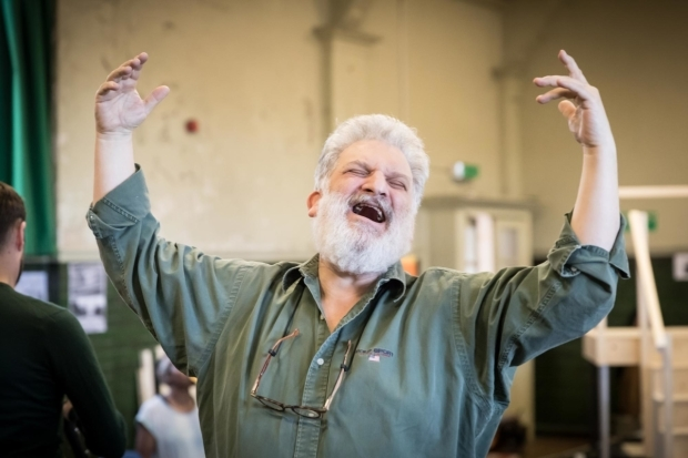 <p>Teddy Kempner (Mr Stopnick) in rehearsal for <em>Caroline, or Change </em></p><br />© Marc Brenner