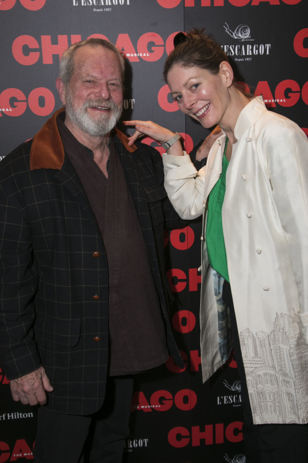 <p>Terry Gilliam and Amy Gilliam</p><br />© Dan Wooller for WhatsOnStage