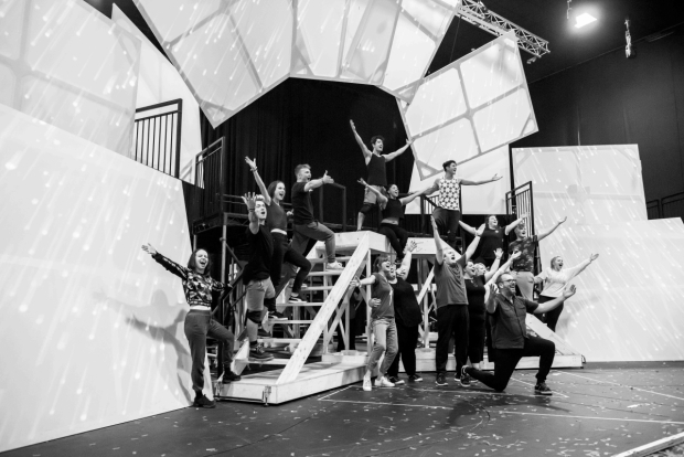 <p>The cast in rehearsals</p><br />© Matt Crockett
