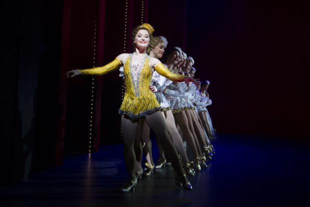 <p>The cast of <em>42nd Street</em></p><br />© Dan Wooller