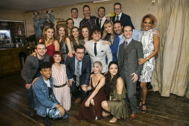 <p>The cast of <em>Barnum</em></p><br />(C) Dan Wooller for WhatsOnStage