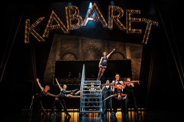 <p>The cast of <em>Cabaret</em></p><br />© Pamela Raith