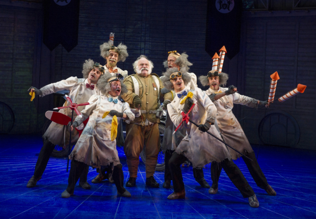 <p>The cast of <em>Chitty Chitty Bang Bang</em></p><br />© Alastair Muir