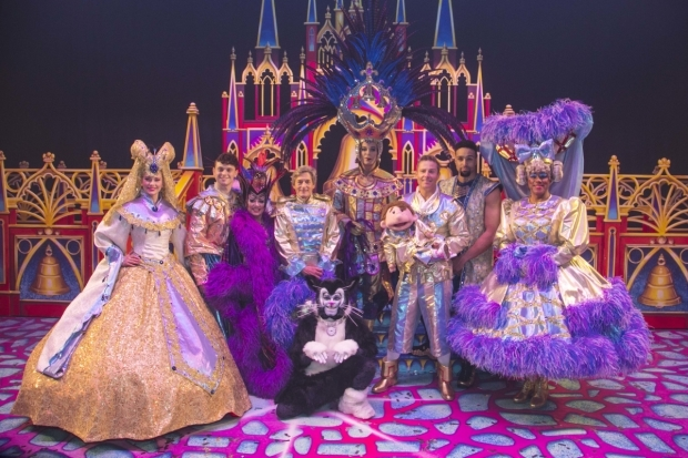 <p>The cast of <em>Dick Whittington</em></p><br />© Dan Wooller