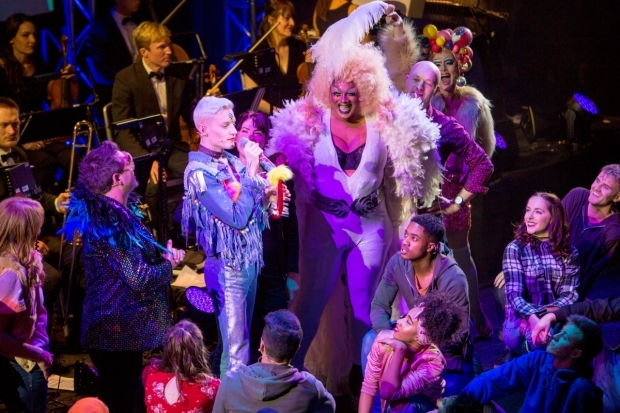 <p>The cast of <em>Everybody&#39&#x3B;s Talking About Jamie</em>, which won Best New Musical</p><br />© Peter Gibbons