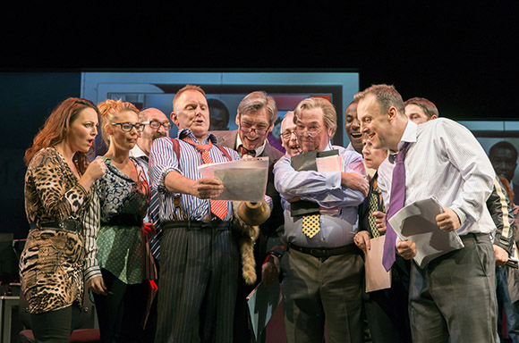 <p>The cast of <em>Great Britain</em></p><br />© Johan Persson