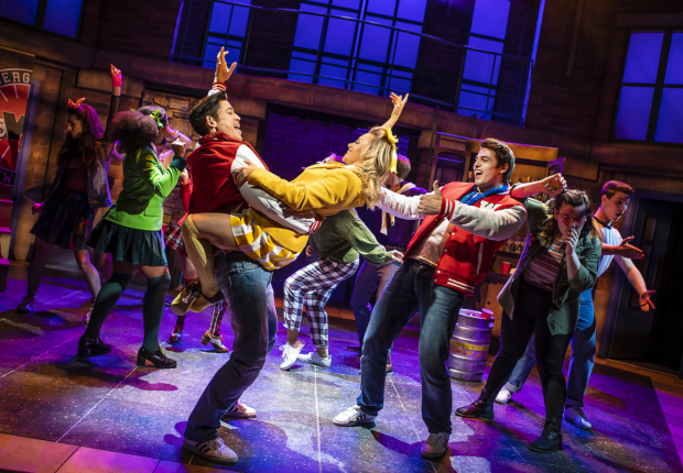 <p>The cast of <em>Heathers</em></p><br />© Pamela Raith