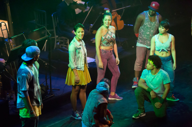 <p>The cast of <em>In The Heights</em></p><br />© Peter Gibbons